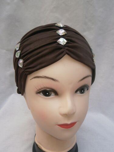 Hijab Scarf Full Cover Under Scarf Diamante Bone Hat Cap Bonnet Chemo Hair