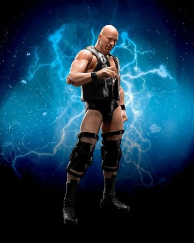 S.H.Figuarts WWE STONE COLD STEVE AUSTIN Action Figure BANDAI NEW from Japan F//S