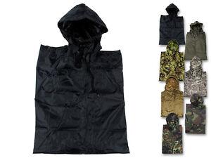 MFH US ARMY pluie poncho Rip Stop Cosy Imperméable Pluie Costume différentes couleurs  </span>