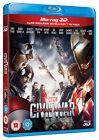 Captain America Civil War (BLU-RAY 3D/2D 2016)