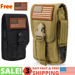MOLLE Gadget Pouch Tactical Vest Gear Backpack Belt Cellphone Camera Utility