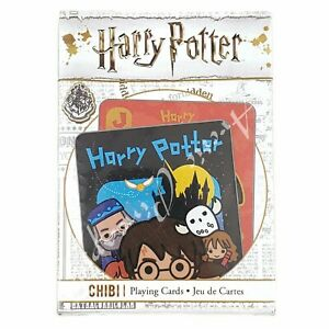 Harry-Potter-Chibi-52-Playing-Cards-Collection-New-In-Package