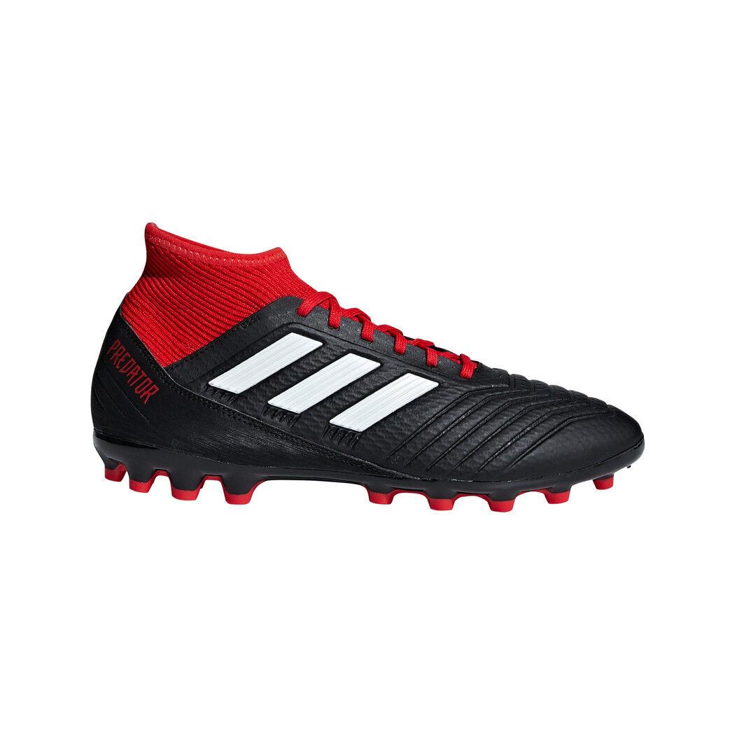 Adidas Protator 18.3 AG Fußballschuhe Kunstrasensohle schwarz weiß rot  | Verkauf