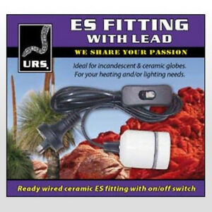 Wondrous Urs Fitting With Es Lead Reptile Edison Ceramic Heat Lamp Holder Wiring Cloud Hisonuggs Outletorg