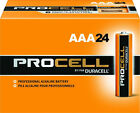 Duracell Procell (PC2400BKD) AAA Alkaline Batteries - Pack of 24