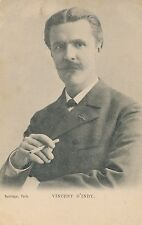 Vincent d'Indy – French Composer and Teacher (1851-1931)