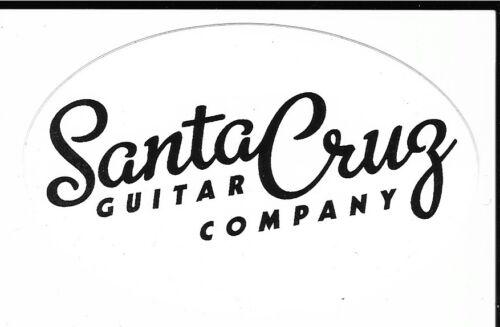 Santa Cruz Guitar Company Sticker Decal