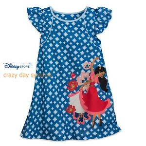 351e22bccead Details about NWT Disney Store Elena of Avalor Nightshirt Nightgown 3