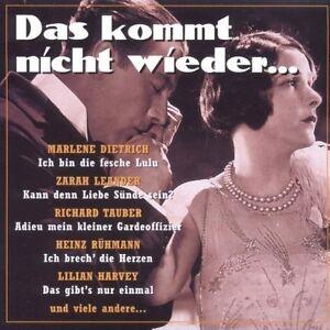 Das-kommt-nicht-wieder-Marlene-Dietrich-Zarah-Leander-Richard-Tauber-H-CD