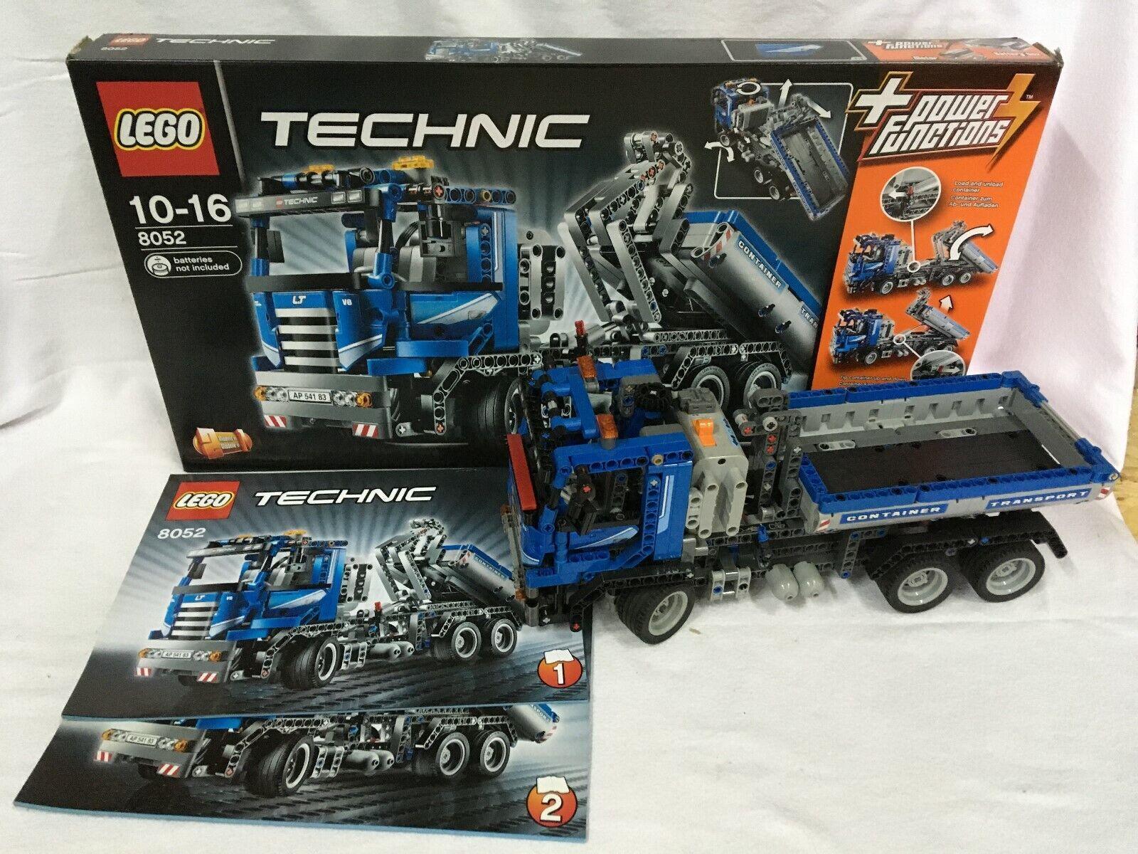 LEGO Technik Container-Truck (8052) mit Power Functions