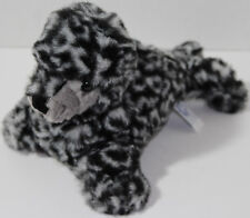 A&A Aurora PEOPLE PALS BLACK & GRAY SEAL Stuffed Plush Animal SOFT TOY Very Cute