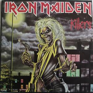 Iron Maiden KILLERS Australian ORIGINAL Pressing BONUS TRACK 1981 EMI RARE LP