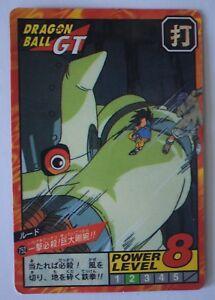 ▬► Carte DBZ Dragon Ball Z GT Grand Combat Super Battle Part 17 Bandai 752