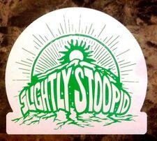 SLIGHTLY STOOPID 2015 Ltd Ed RARE New Logo Sticker +FREE Alt/Punk/Rock Stickers!