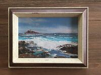 "Joyce Clark- Original 5""X 7"" Oil Painting on Board (Hana Bay)"