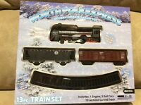 North Pole Express 13pc Train Set Battery Powered-headlight- Christmas Gift
