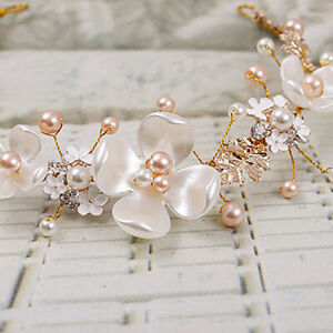 Women-Bridal-Hair-Clip-Headband-Pearl-Gold-Wedding-Hair-Accessories-Jewelry-Gold