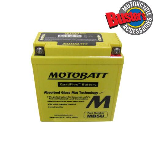 MZ 251 Seyhan Kanuni 2003 CB5L-B 12N5-3B Motobatt Motorcycle Battery Upgrade