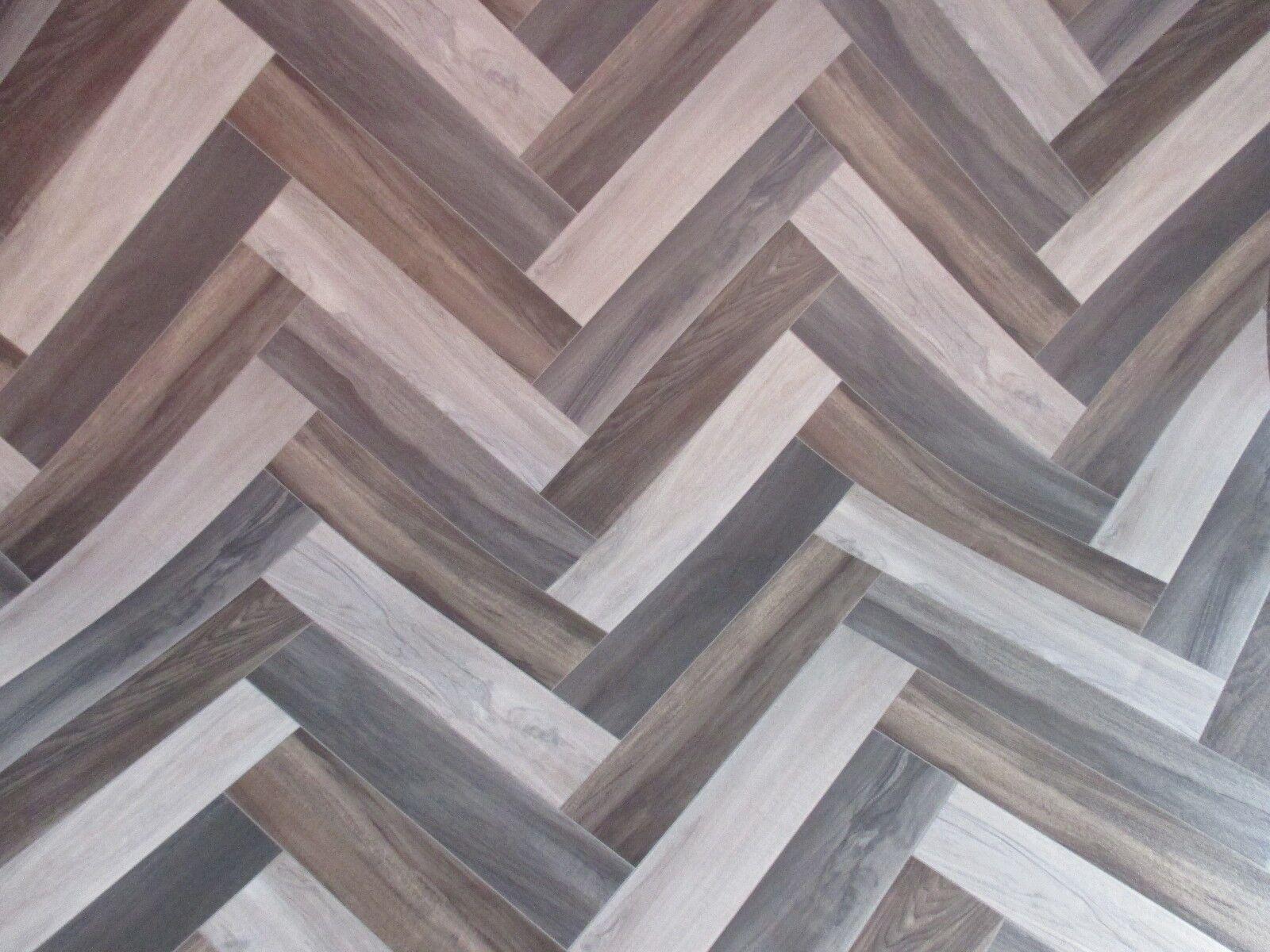 PVC (  m²) CV Bodenbelag Holz Mehrfarbig Trent Venice Optik 2 Meter breite