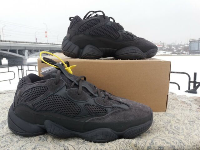 sports shoes ef3a1 cb64e adidas Yeezy 500 Utility Black F36640 Size 9