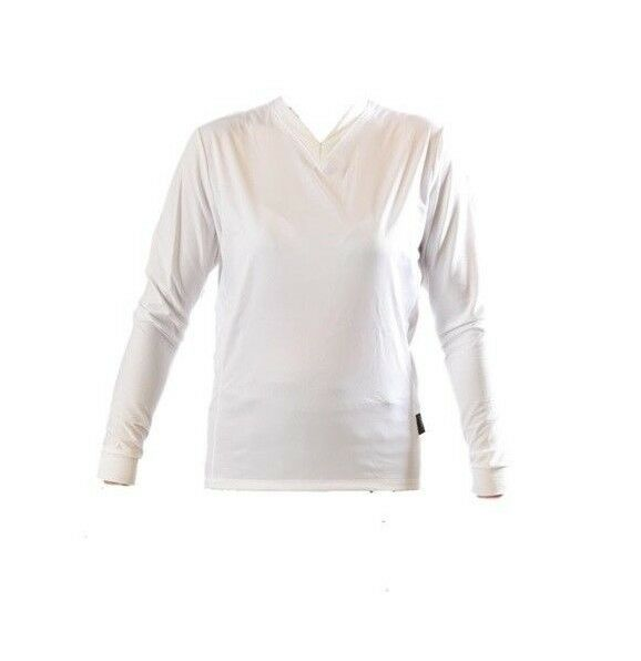 Nalini Filoden Long Sleeve Cycling Base Layer – White – Choose Size