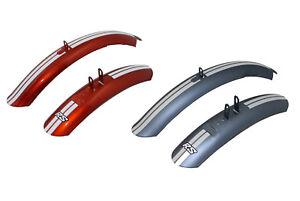 Licht Blue Electra Rally Sport Shortboard Schutzblech Set Stubby Fender Cooper
