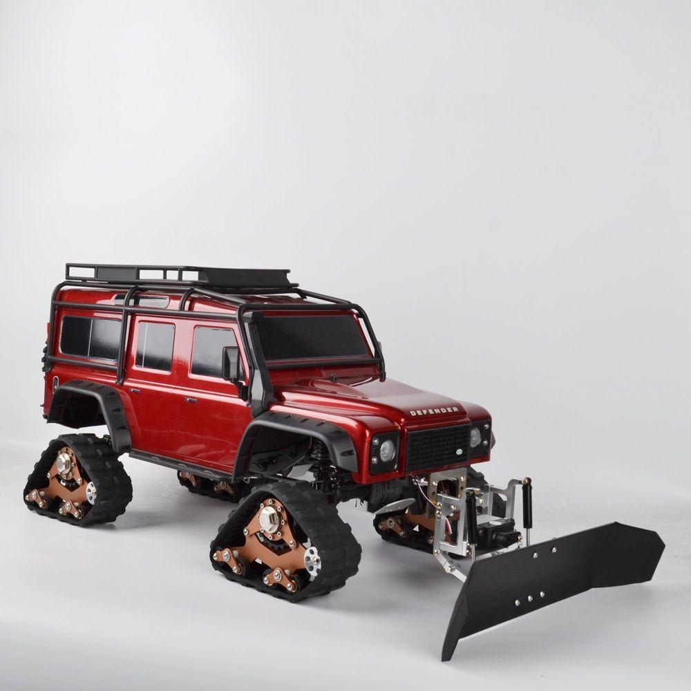 1   10 rc - car metall schneeschaufel servo - schneepflug fr traxxas trx4 d90 d110 scx10