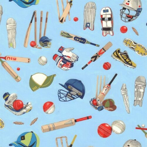 CRICKET EQUIPMENT 100/% COTTON FQ//METRE CRAFT//QUILTING per 1//4metre Nutex