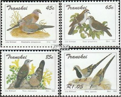 Fine Used Realistic Transkei 311-314 Cancelled 1993 Pigeons Quality And Quantity Assured complete.issue.