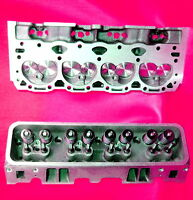2 Gm Chevy Vortec 350 Cylinder Heads 2.02 Stainless Valve 906 062 No Core