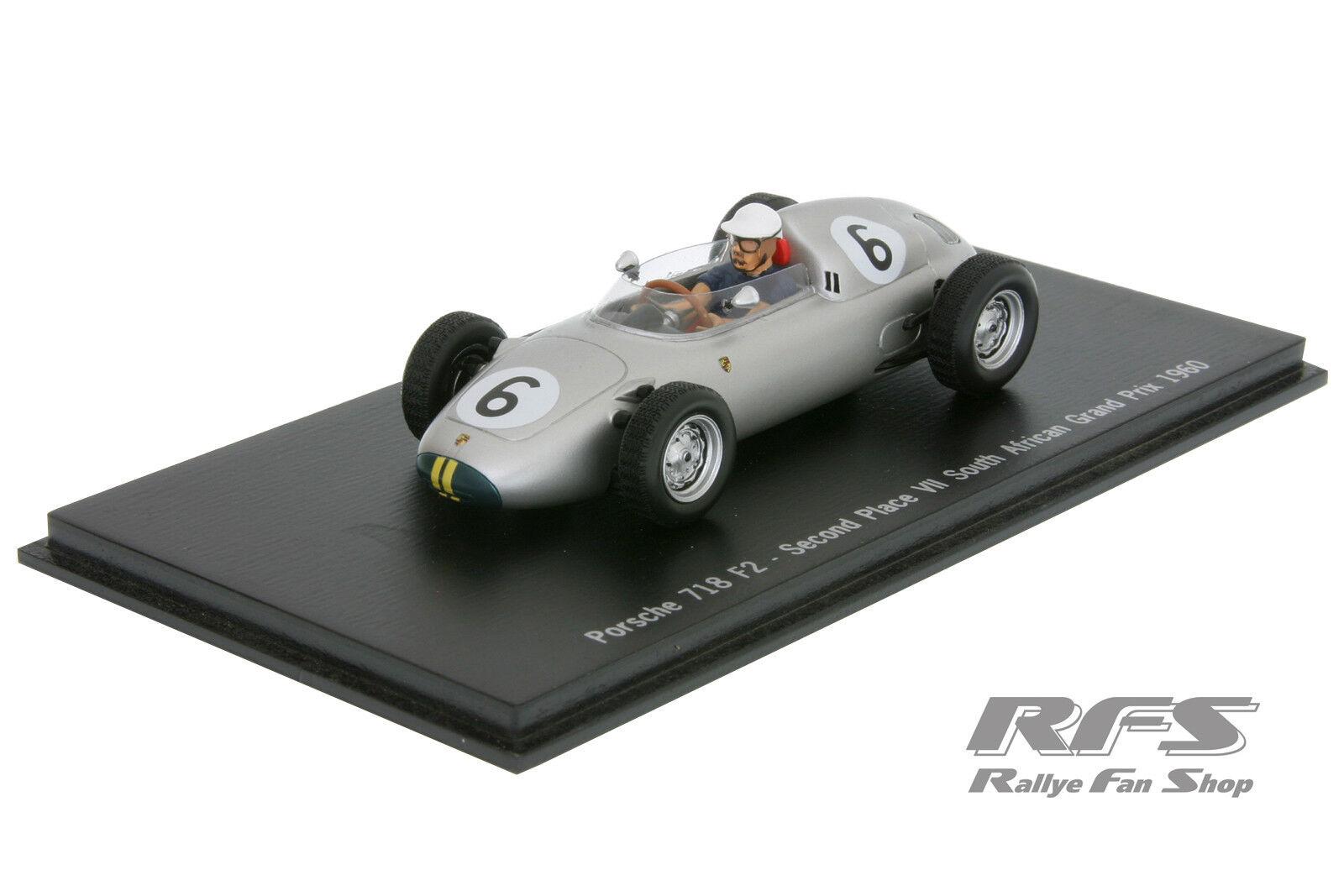 1 43 porsche 718 rs 60-Formula libre Bonnier Afrique du sud 1960 spark map02021313
