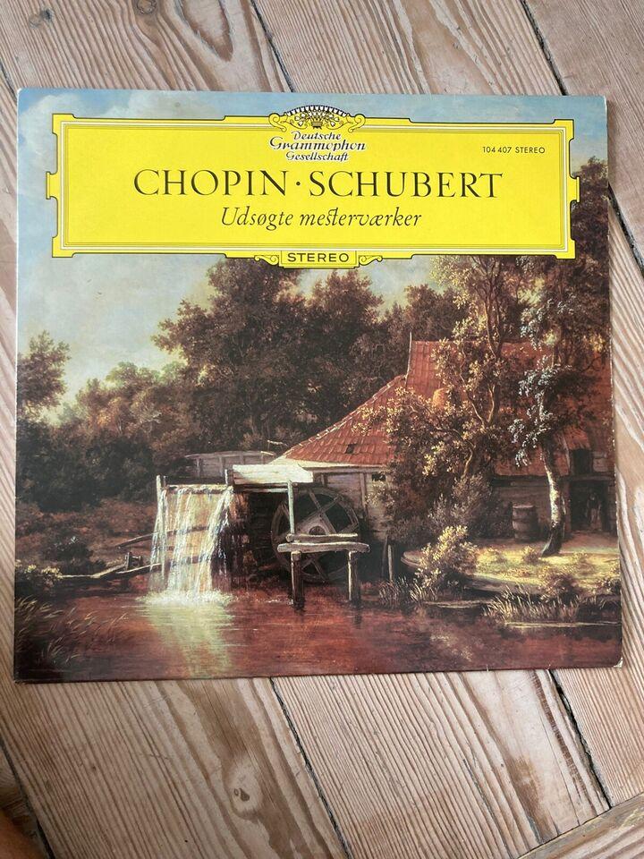 LP, Chopin - Schubert, Udsøgte Mesterværker