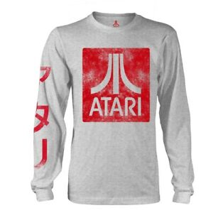 Original-Atari-Box-Logo-Shirt-Official-Merchandise-M-L-XL-Rar-amp-Neu