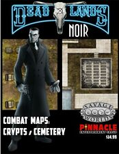 Deadlands Noir Cemetery/Crypt Map Savage Worlds Pinnacle