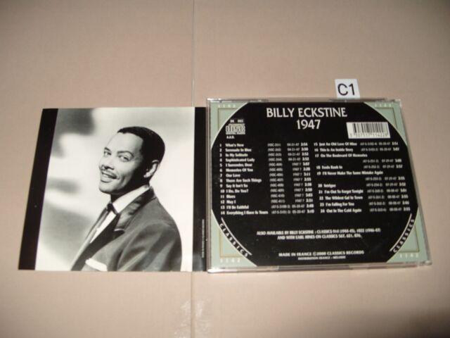 Billy Eckstine - 1947 (2000) cd is Excellent / Booklet Very good