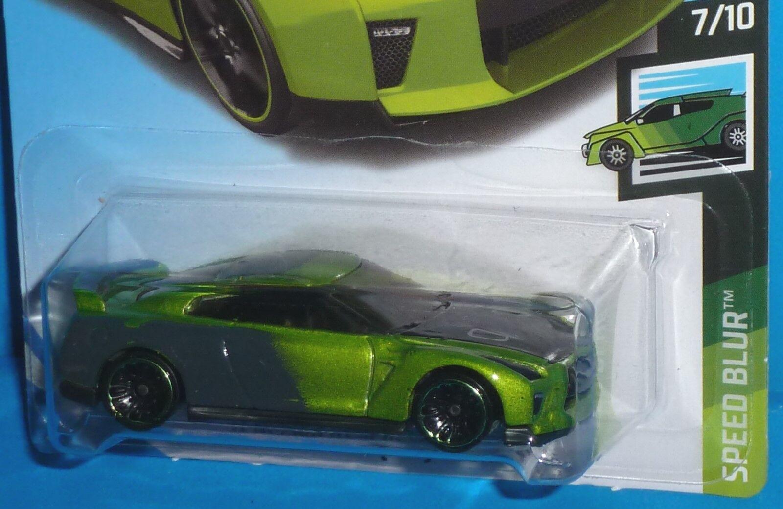 Hot Wheels 2019 ´17 Nissan GT-R R35 GUACZILLA NEU /& OVP