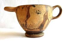 VASE GREC CORINTHIEN CHOUETTE - 600 BC - ANCIENT GREEK CORINTHIAN SKYPHOS - OWL
