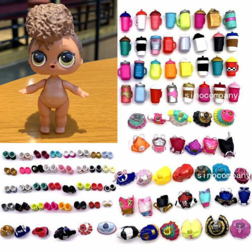 LOL Surprise Confetti Pop Riptide Doll /&Random dress shoes Bottle Series 3 Gift