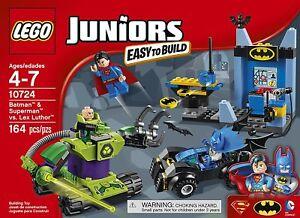 Lego - 10724 Juniors Batman & Spider-man Contre Lex Luthor