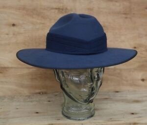 RAAF-Slouch-Hat-with-Puggaree-amp-Chin-Strap-Mountcastle-1995-NOS-SIZE-61-7-1-2
