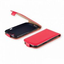 % FLEXI Handy Tasche Hülle Cover Rot r Schutzhülle Samsung Galaxy Ace NXT