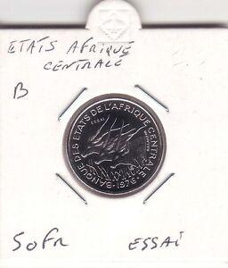 ESSAI-50-FRANCS-ETATS-AFRIQUE-CENTRALE-LETTRE-034-B-034