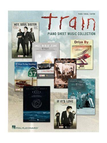 Train Piano Sheet Music Collection Play Piano Vocal /& Guitar SHEET MUSIC BOOK