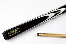 Riley BLACK TRIUMPH 2 Piece Ash Snooker Pool Cue - 9mm Tip