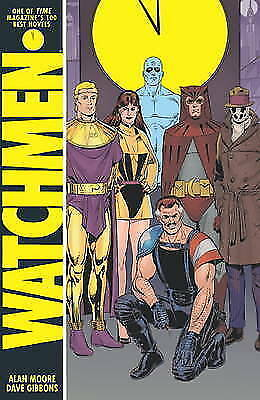 Dave Paperback Book The Cheap Fast Free Post Watchmen by Gibbons