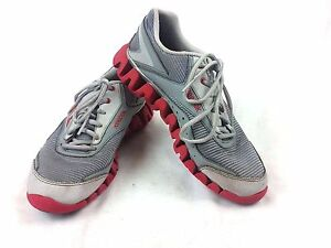 17f1622b8c9d Men s Reebok Zigtech red gray athletic sneakers size 5.5 059503 1011 ...
