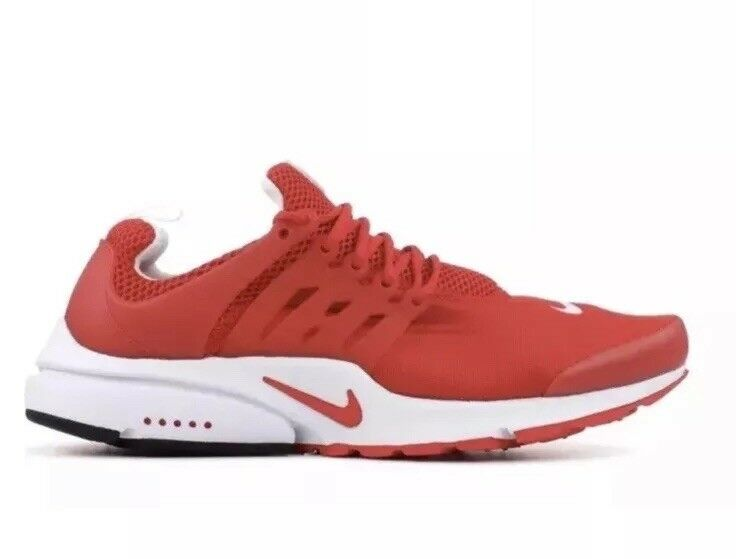 Nike Air Presto Essential Mens 848187-601 University Red Running shoes Size 9