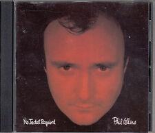 PHIL COLLINS NO JACKET REQUIRED CD WEST GERMAN IMPORT ORIGINAL PRESSING