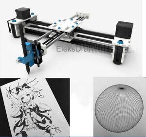 2 Axis DIY CNC XY Plotter Pen Drawing Machine Robot Auto