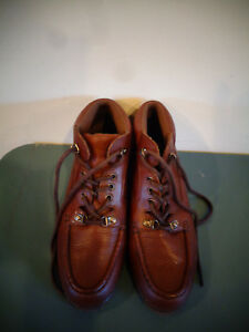 67849ad0408 Image is loading EASY-SPIRIT-WOMEN-039-S-BROWN-LEATHER-ANKLE-